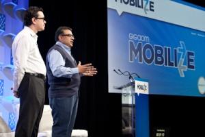 Kevin Fitchard (L) and Om Malik, GigaOM, Mobilize 2012