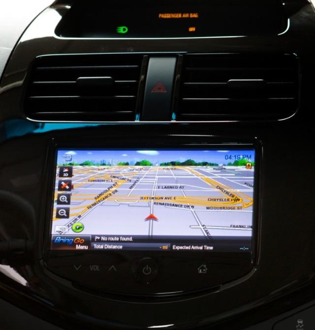 2013-Chevrolet-Spark-BringGo navigation