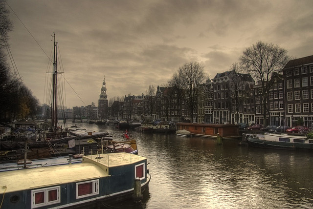 Amsterdam clouds
