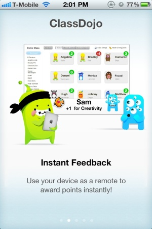 ClassDojo mobile app