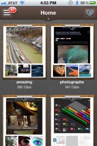 Clipboard iPhone screenshot