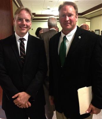 Dean Nelson with Utah State Senator Mark Madsen