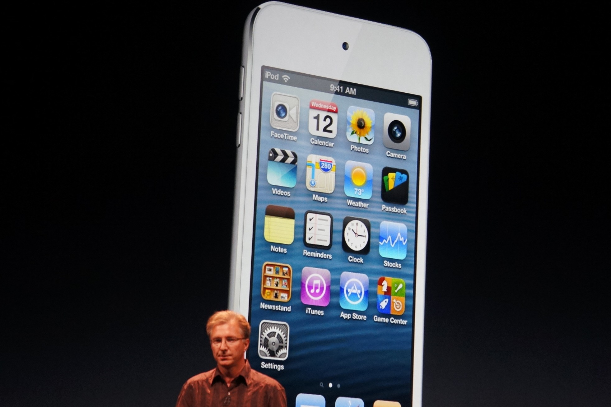 iPod touch with 4-inch display
