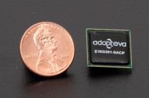 The Adapteva Epiphany 16-core chip.