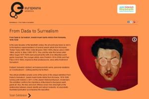 Europeana exhibition screenshot