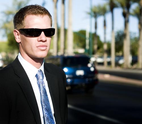 guy in shades, FBI, law enforcement, california