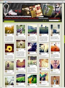 VenueSeen image gallery Instagram photos advertising