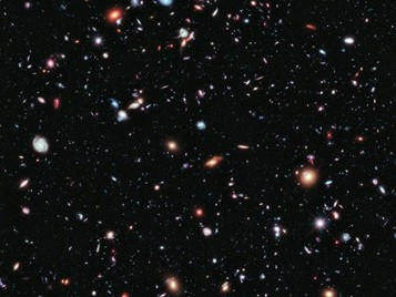 hubble deep space image