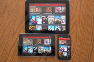 Netflix on Android and iOS devices