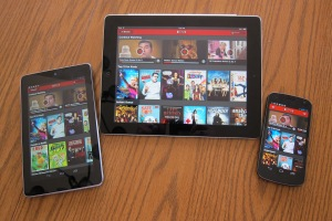 Netflix on Android and iOS
