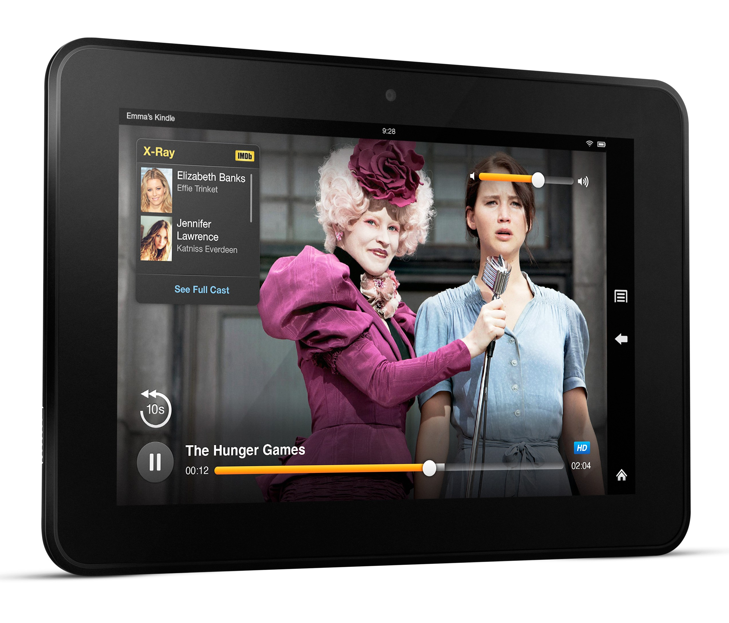 Kindle Fire HD with X-Ray