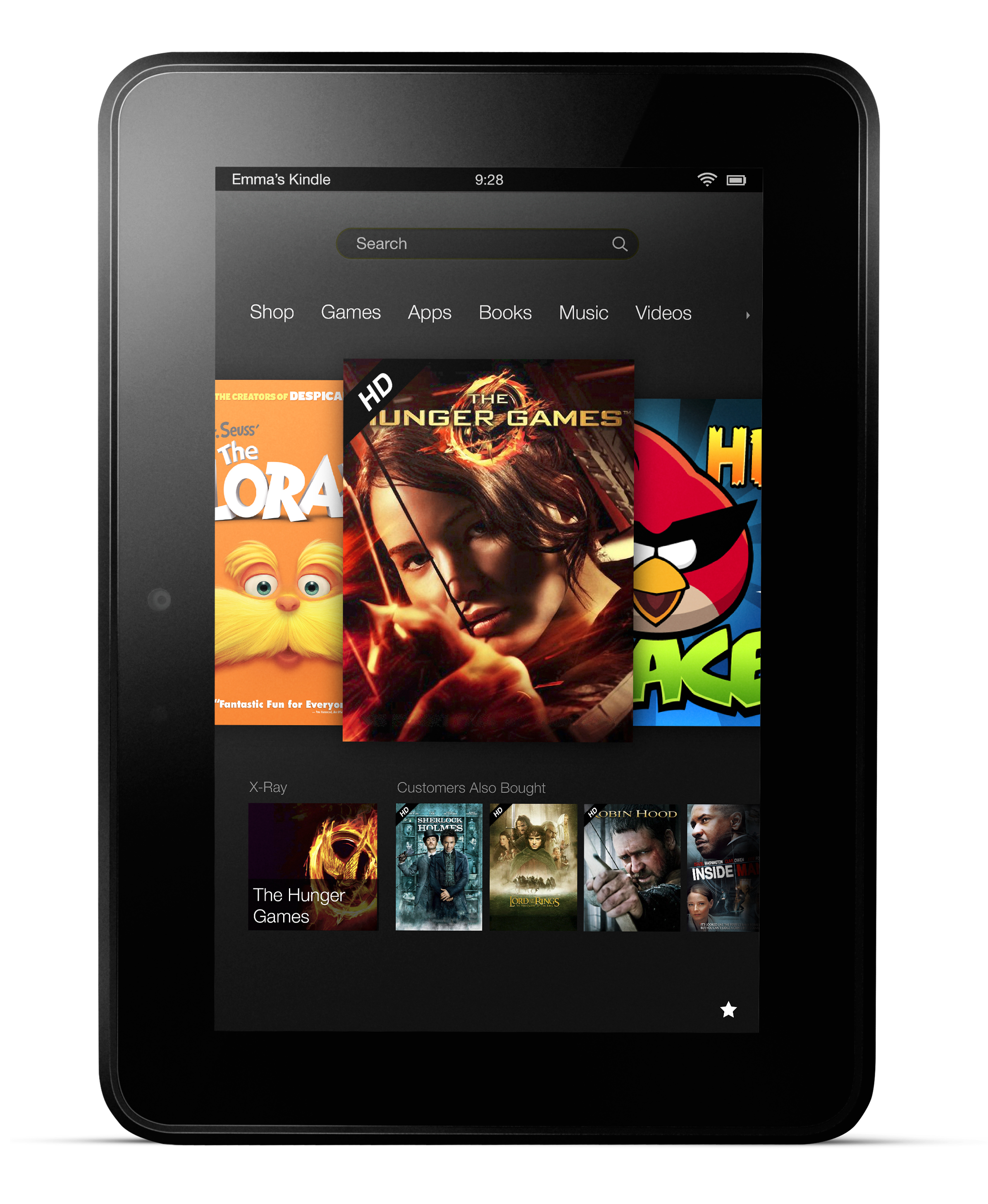 Kindle Fire HD 7 inches