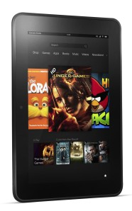 Kindle Fire HD angle