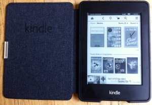 kindle paperwhite e-reader