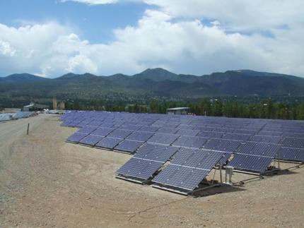 Kyocera and solar in New Mexico