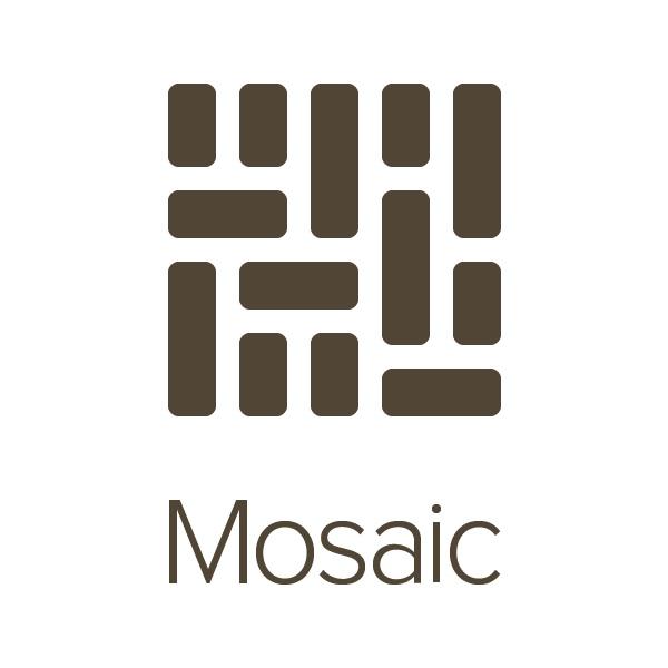 mosaic logo, Mixbook