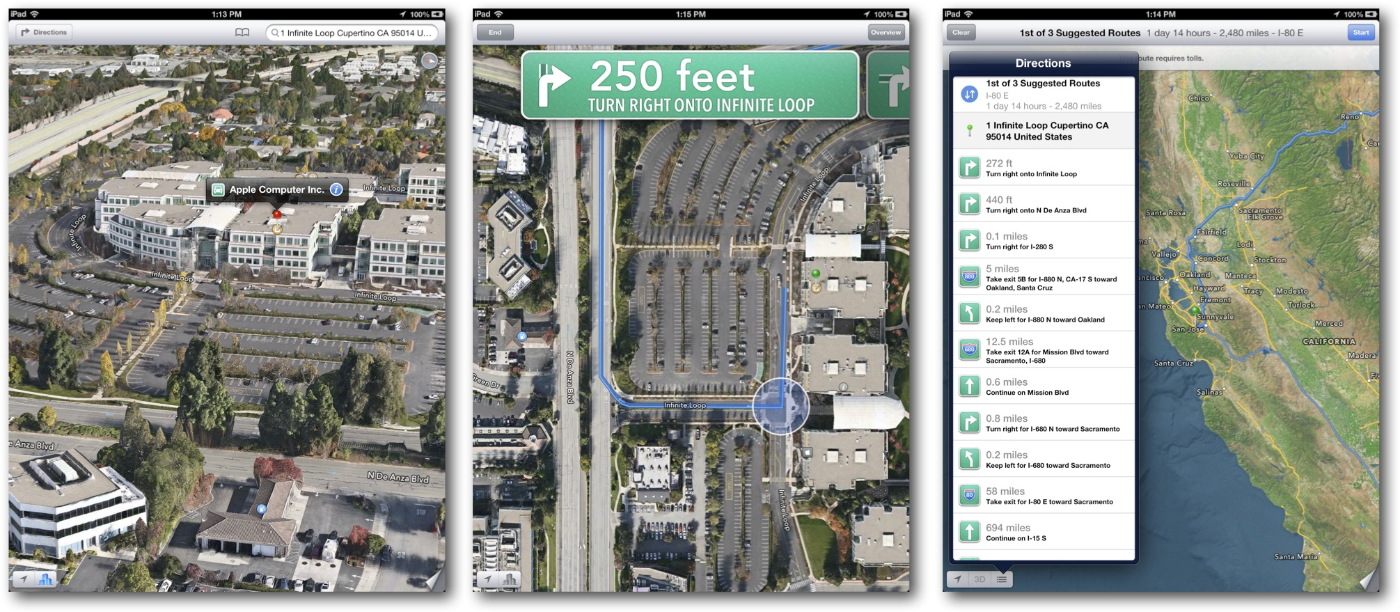 New Maps App