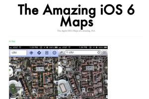 Apple Maps parody Tumblr