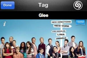 Shazam for TV Tag Result_Glee