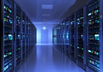 Server room in data center