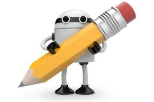 robot pencil