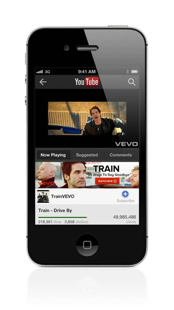 youtube iphone app 1