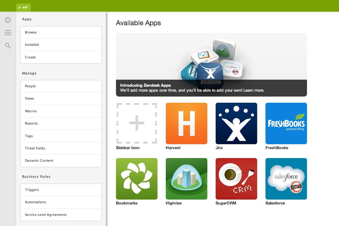 Zendesk Apps