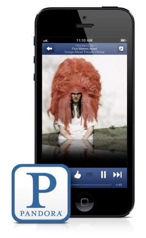 pandora iphone featured art