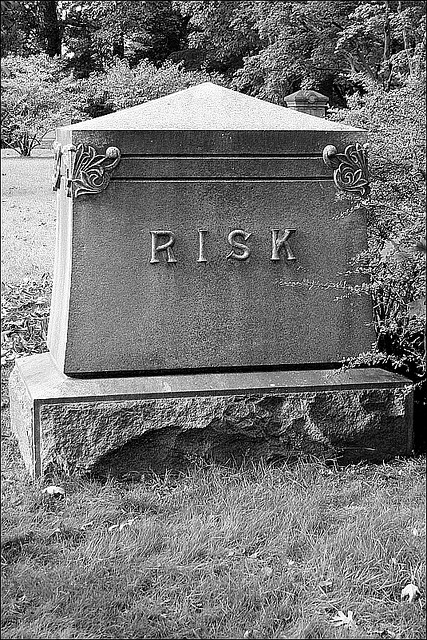 Risk headstone