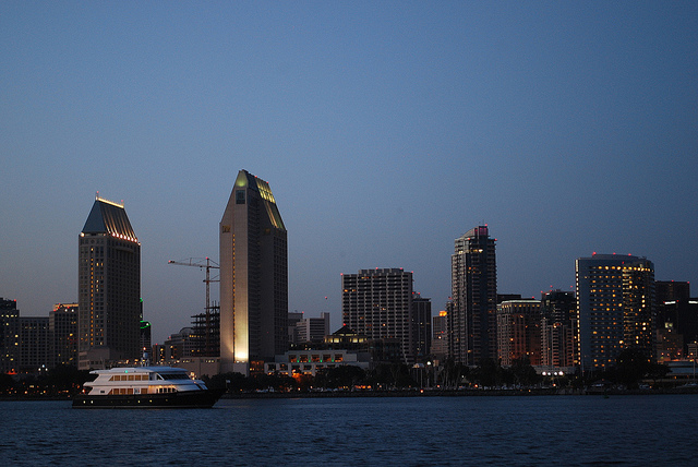 San Diego waterfront