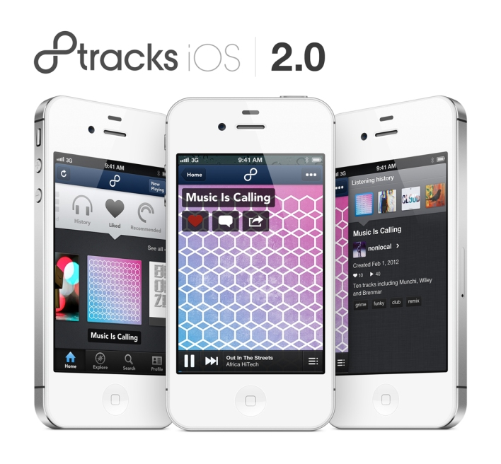 8tracks new screenshot iOS app