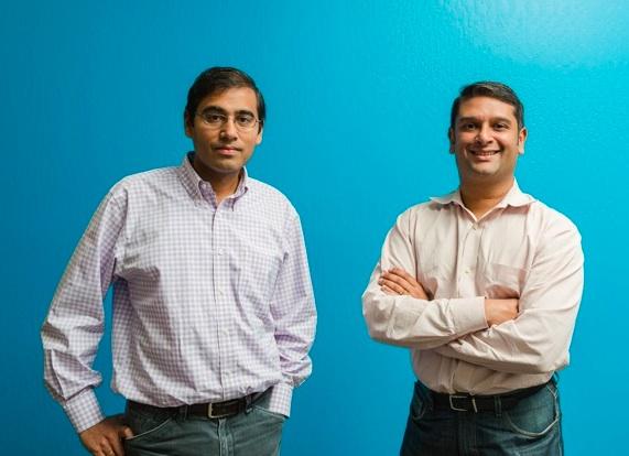 Bloomreach co-founders Ashutosh Garg and Raj De Datta.