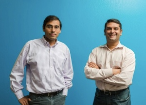 Bloomreach co-founders Ashutosh Garg and Raj De Datta.