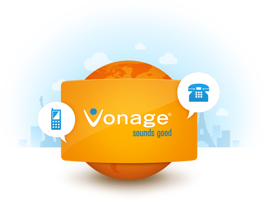 Vonage, calling card