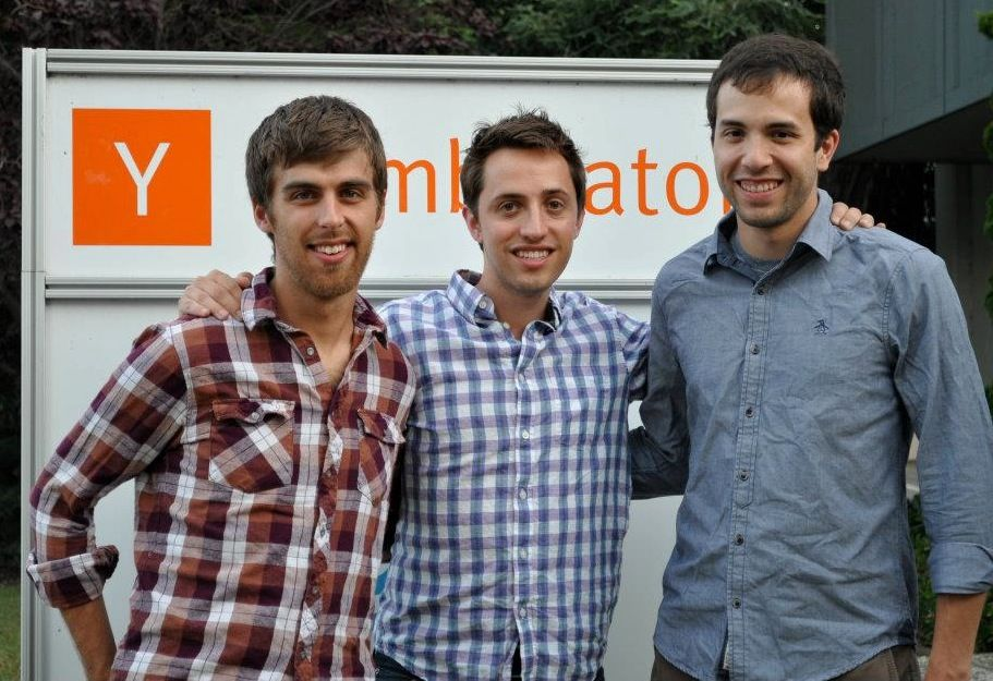 Clever founders Dan Carroll, Tyler Bosmeny and Rafael Garcia (from left)