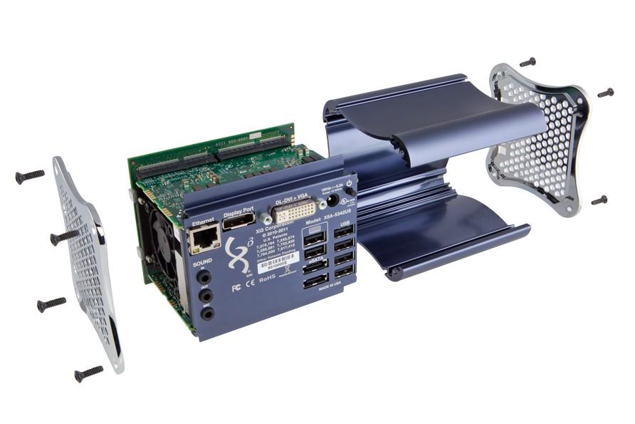 The Xi3 modular computer.