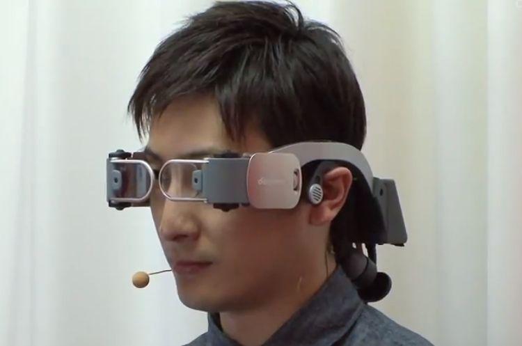 NTT Docomo handsfree video phone