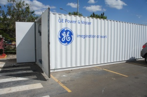 A GE water desalination plant in Brazil