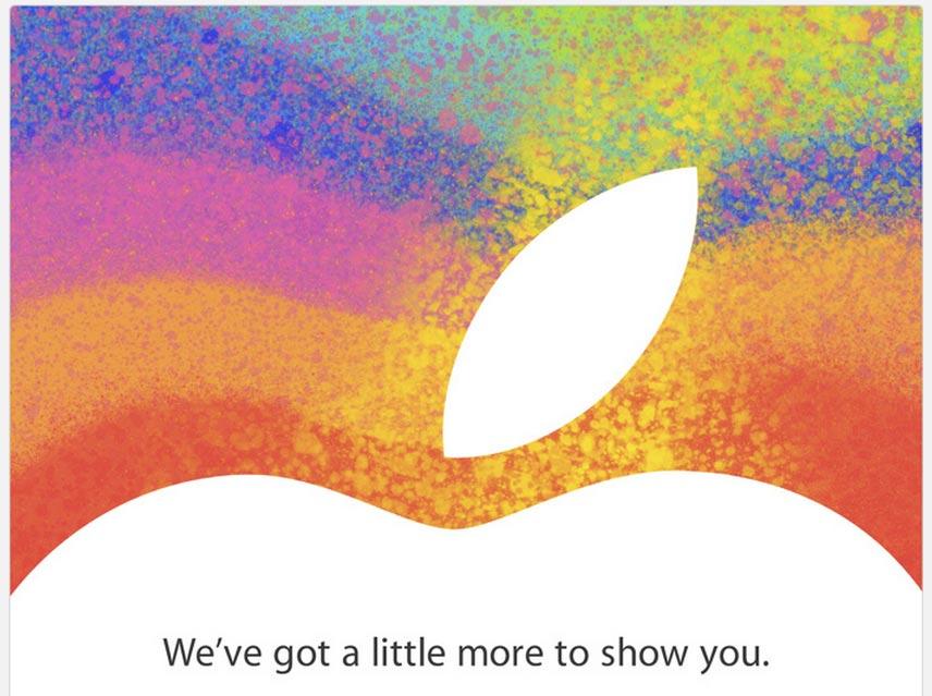 Apple iPad Mini event photo