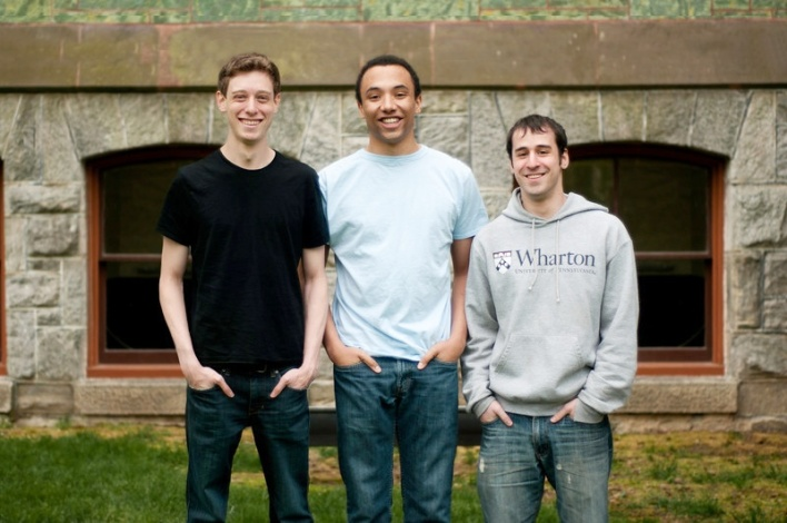 Firefly co-founders (l. to r.) Dan Shipper, Patrick Leahy, Justin Meltzer.