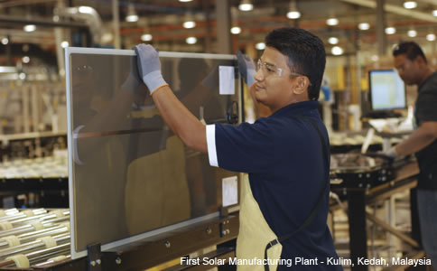 First Solar Malaysia plant