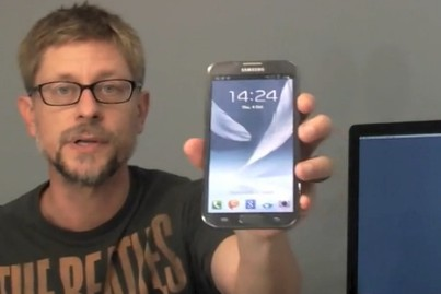 Galaxy Note 2 unboxed