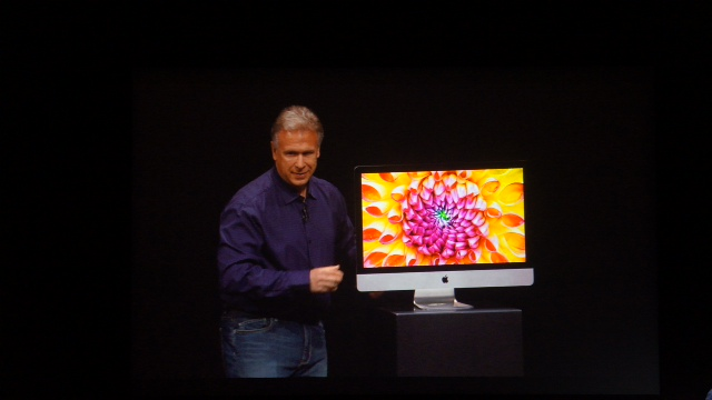 iMac Schiller Pad mini event