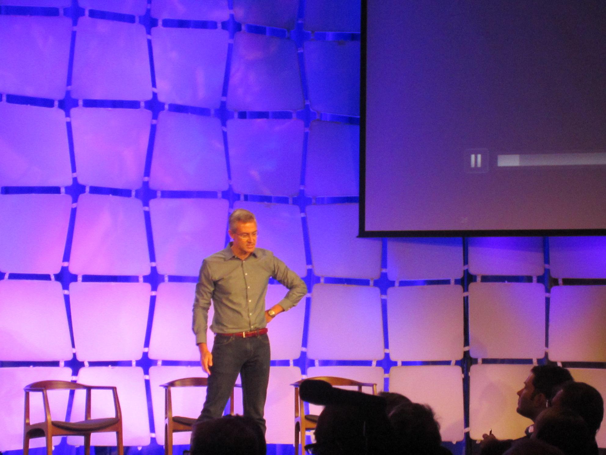 MC10 CEO David Icke speaking at EMtech 2012.