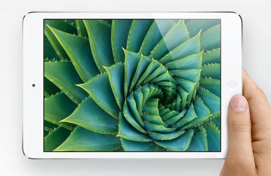 Apple iPad mini in hand
