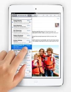 Apple iPad mini mail
