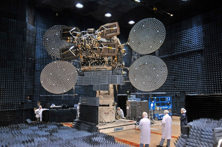 EchoStar 17 broadband satellite HughesNet Gen4