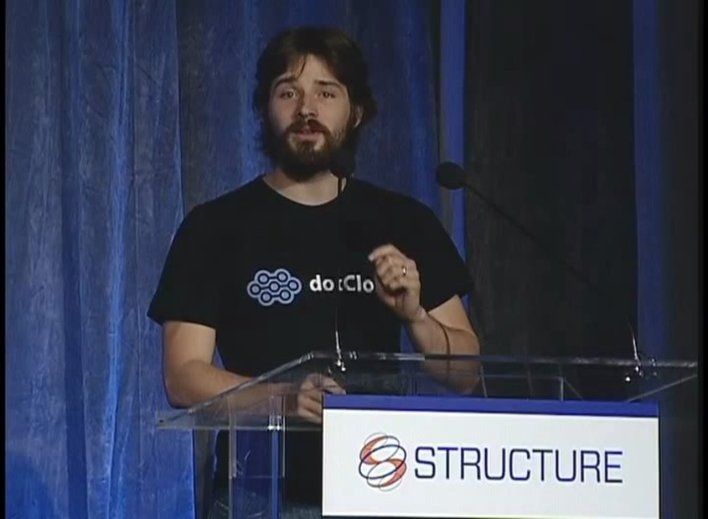dotCloud (and Docker) Founder Solomon Hykes at the Structure Launchpad in 2011.