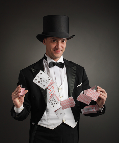 Magician, tricks