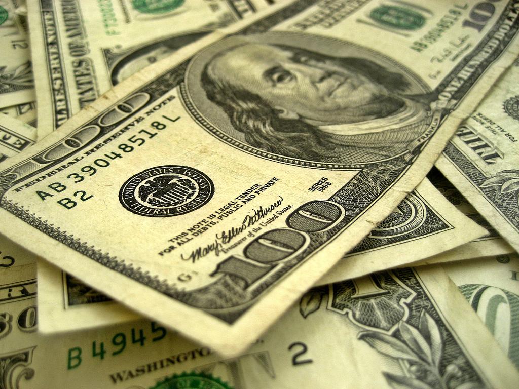 money dollar bills benjamin franklin cash